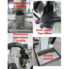 Fendeuse bûches professionnelle 220V – 3.6kW – 16T