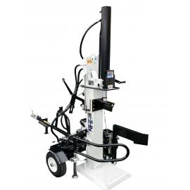 Fendeuse thermique tractable PROFESSIONNELLE 22T – 110cm - 6,5cv – Fendeur remorque