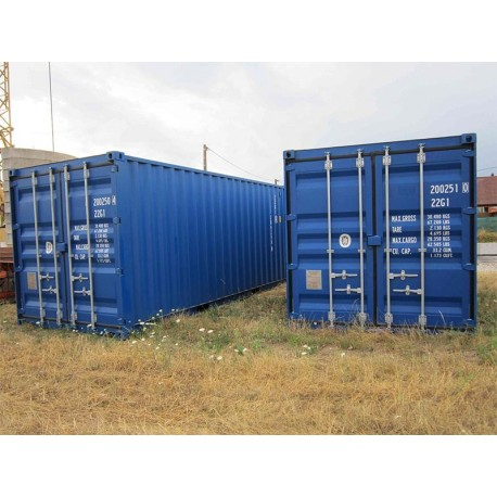 container maritime 20 pieds neuf premier voyage at outils. Black Bedroom Furniture Sets. Home Design Ideas
