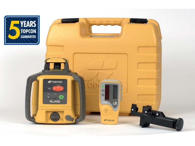 Laser rotatif automatique rl h4c topcon pente trepied mire at outils - Niveau laser rotatif automatique ...