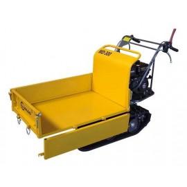 Mini dumper chenilles 300kg – 6,5ch - Brouette transporteur