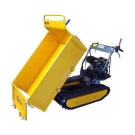 Mini Dumper sur chenilles 500kg – 6,5ch