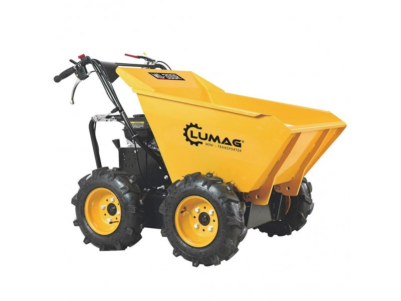 mini dumper 4 roues motrices 300kg 6 5ch brouette moteur at outils. Black Bedroom Furniture Sets. Home Design Ideas