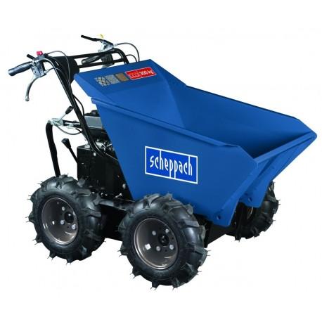 Mini Dumper SCHEPPACH DP3000 - 4 roues motrices 300kg – 6,5ch