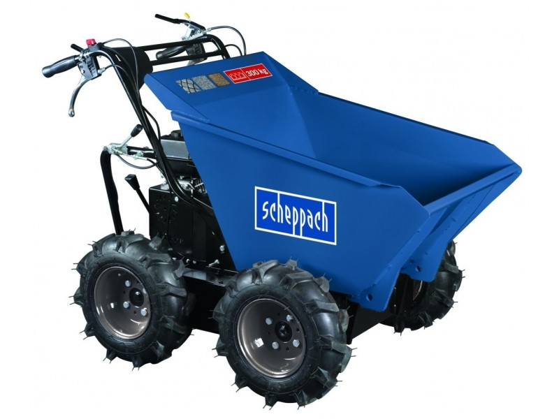 mini dumper scheppach dp3000 4 roues motrices 300kg 6 5ch at outils. Black Bedroom Furniture Sets. Home Design Ideas