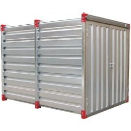 Container chantier - Conteneur de stockage 3m - Bungalow galvanisé démontable