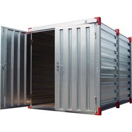 Container chantier - Conteneur de stockage 2,2m Bungalow galvanisé démontable