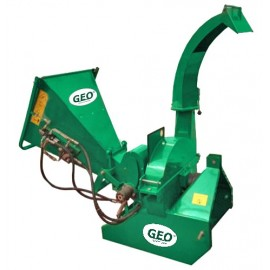 Broyeur de Branches et végétaux GEO ECO 16H -15cm  Ameneur hydraulique – Prise de force tracteur