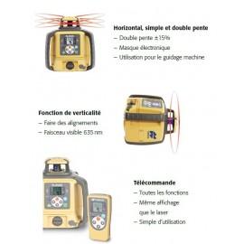 Laser double pente et multifonction TOPCON RL-SV2S