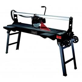 Scie à carrelage 120cm , coupe carreaux sur table SCHEPPACH FS4700 BE - 1.200mm - Black Edition