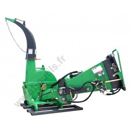Broyeur de Branches et végétaux GEO ECO 21 -15cm  Ameneurs hydrauliques – Prise de force tracteur